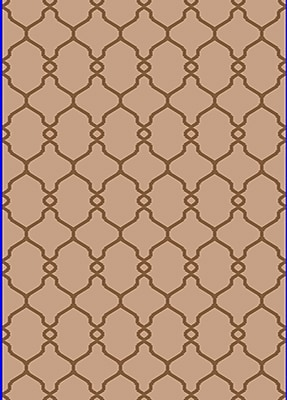 Dynamic Rugs Passion Beige Rug; Rectangle 3'6'' x 5'6''