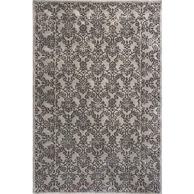 Donny Osmond Timeless Silver Tranquility Area Rug; Rectangle 9' x 13'