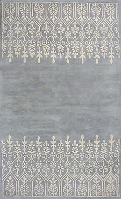 Donny Osmond Harmony Mist Traditions Area Rug; Round 5'6''