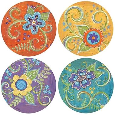 Thirstystone Gypsy Blossom Coaster (Set of 4)