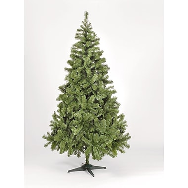 Hometime Snowtime 7.8' Green Colorado Spruce Artificial Christmas Tree