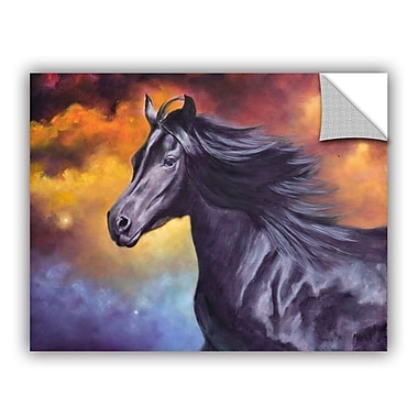 ArtWall ArtApeelz Black Thunder by Marina Petro Graphic Art on Canvas; 24'' H x 32'' W x 0.1'' D