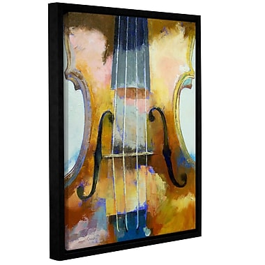 ArtWall Violin by Michael Creese Framed Painting Print; 14'' H x 18'' W