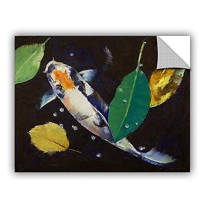 ArtWall ArtApeelz Kumonryu Koi by Michael Creese Painting Print; 36'' H x 48'' W x 0.1'' D