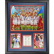 Legends Never Die 2015 USA Womens World Cup Champions Picture Framed Memorabilia