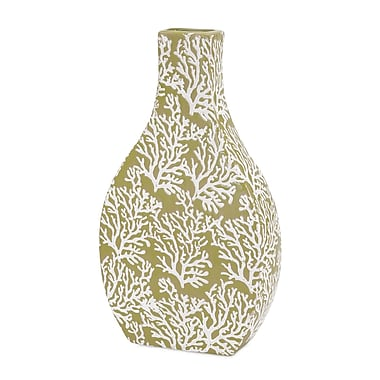Woodland Imports Coral Vase; Small