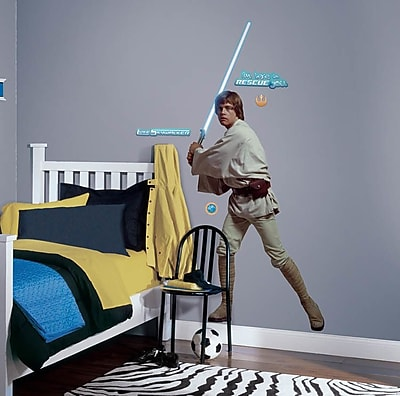 Wallhogs Star Wars Luke Skywalker Cutout Wall Decal WYF078277864264