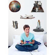 Wallhogs Space Multi-Pack III Wall Decal