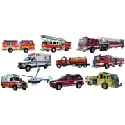 Wallhogs Rescue Vehicle Wall Decal Multi-Pack