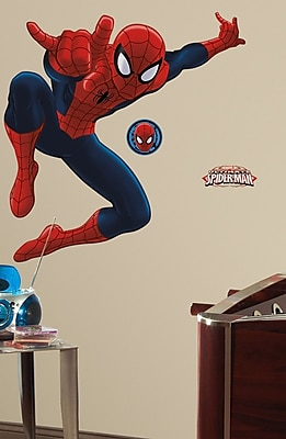 Wallhogs Ultimate Amazing Spider-Man Wall Decal WYF078277864326