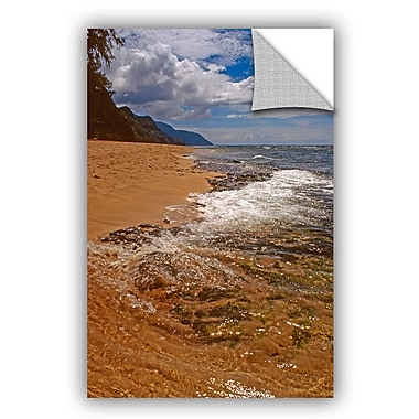 ArtWall Sky, Surf, And Sand by Kathy Yates Photographic Print; 24'' H x 36'' W x 0.1'' D