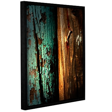 ArtWall Wood And Nail by Mark Ross Framed Photographic Print; 24'' H x 32'' W x 2'' D