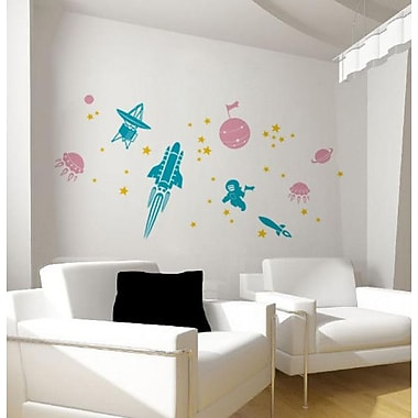 Pop Decors Voyage To The Outer Space Wall Decal