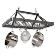 Enclume USA Handcrafted Carnival Rectangle Hanging Pot Rack