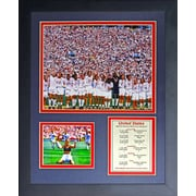 Legends Never Die 1999 USA Womens World Cup Champions Picture Framed Memorabilia