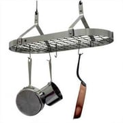 Enclume USA Handcrafted Gourmet 32'' Contemporary Rectangle Pot Rack