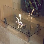 Nu-Flame Fiero Freestanding Bio-Ethanol Fireplace