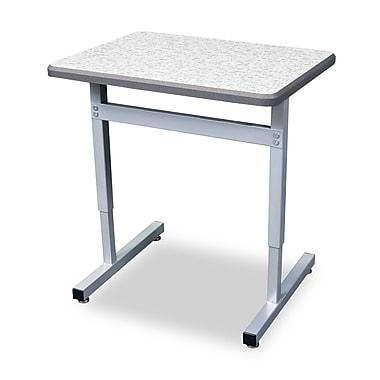 WB Manufacturing Une-T Wood 27'' Collaborative Desk