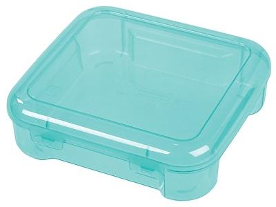 IRIS® On the go Travel Storage Case, Seafoam, 8 Pack (150551)