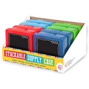 IRIS® Assorted Stackable Supply Case, Boy, 8 Pack (215518)
