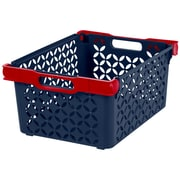 IRIS® Boy's Large Decorative Basket, 8 Pack (250134)