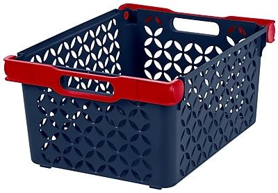 IRIS® Boy's Large Decorative Basket, 8 Pack (250134)