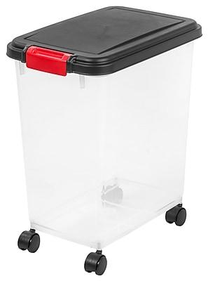 IRIS 8 Gallon Weathertight Storage Container 6 Pack 301135 Staples