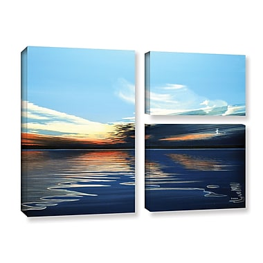 ArtWall Quiet Reflections by Ken Kirsh 3 Piece Photographic Print on Gallery Wrapped Canvas Set