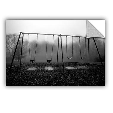 ArtWall ArtApeelz Silent Swing by Steve Ainsworth Photographic Print on Canvas