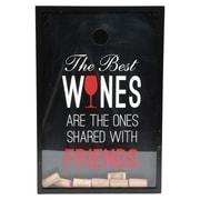 DEI Wine Sayings Great Wine Shadowbox Cork Keeper
