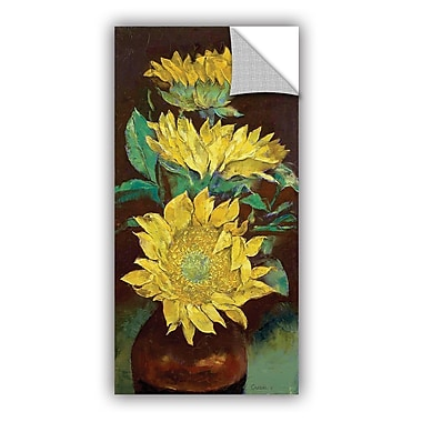 ArtWall ArtApeelz Sunflowers by Michael Creese Painting Print Removable Wall Decal