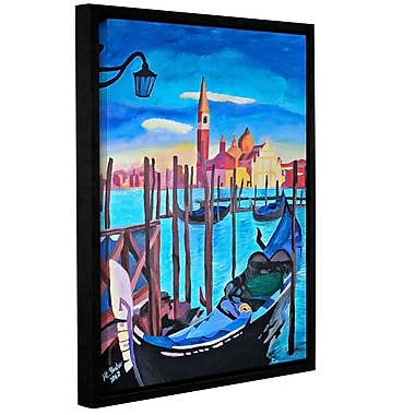 San Giorgio Maggiore Of Venice by Marcus/Martina Bleichner Framed Painting Print on Wrapped Canvas