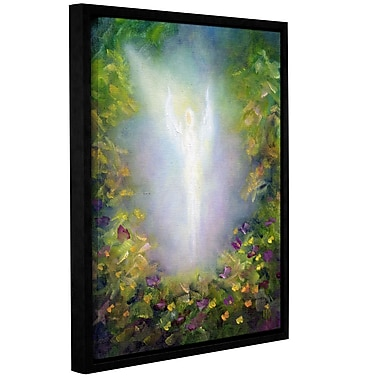 ArtWall Healing Angel I by Marina Petro Framed Painting Print on Wrapped Canvas; 18'' H x 14'' W