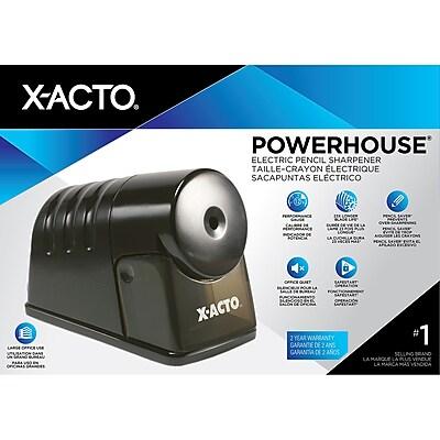 X-ACTO Powerhouse 1799 Electric Pencil Sharpener Black