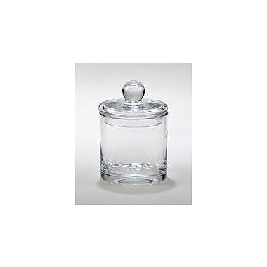 Creative Gifts International Simon Biscuit Barrel Glass Kitchen Canister