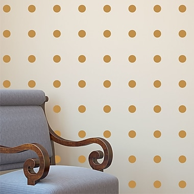 Belvedere Designs LLC Polkadots Wall Quotes Decal Kit (Set of 50)