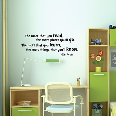 Belvedere Designs LLC Read Dr. Seuss Wall Decal