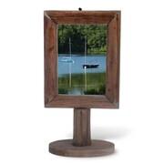 Boston International Wood Picture Frame; 5'' x 7''
