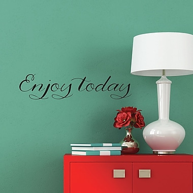 Belvedere Designs LLC Enjoy Today Wall Quotes Decal