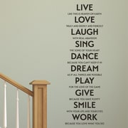 Live Love Laugh Quotes Amusing Belvedere Designs Llc Live Love Laugh Sing Etcwall Quotes Decal