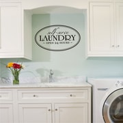 Belvedere Designs LLC Self- Serve Laundry Wall Quotes  Decal