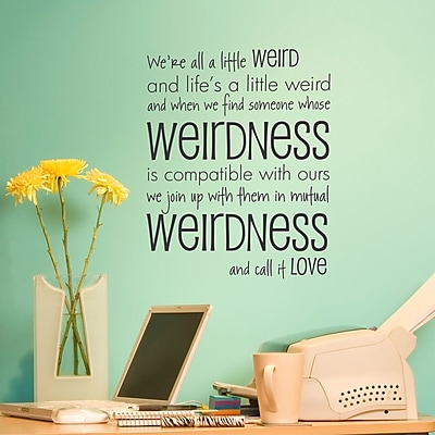 Belvedere Designs LLC Call It Love Wall Quotes Decal