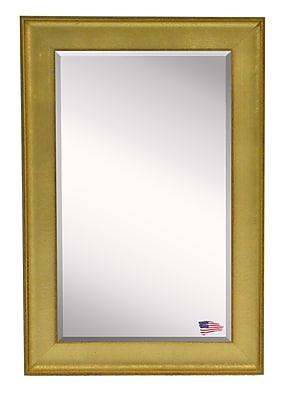 Rayne Mirrors Jovie Jane Vintage Gold Mirror; 34'' H x 22'' W