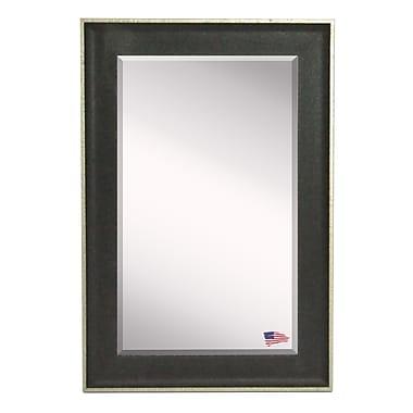 Rayne Mirrors Jovie Jane Vintage Black Mirror; 24'' H x 20'' W
