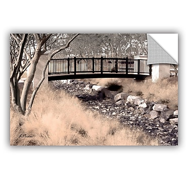 ArtWall ArtApeelz Bridge Over Wash by Linda Parker Photographic Print; 24'' H x 36'' W x 0.1'' D