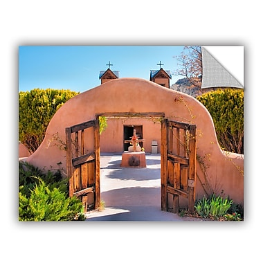 ArtWall ArtApeelz Gate To Chimayo by Steve Ainsworth Photographic Print on Canvas
