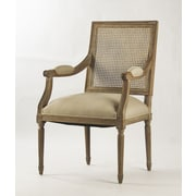 Zentique Louis Solid Wood Dining Chair