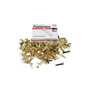 "Charles Leonard Brass-Plated Paper Fasteners 3/4"", Brass, 100/box (CHL3RBP)"