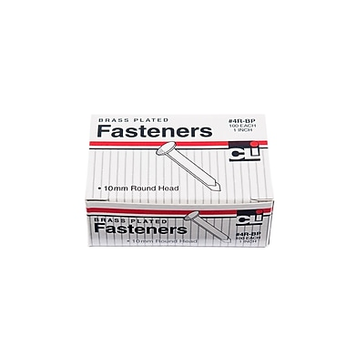 Charles Leonard Brass-Plated Paper Fasteners 1
