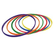 Plastic Hoops 30, 12 per pack 2 each of 6 Colors (CHSH3)